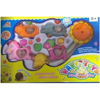 Baby Toys Zenélő forgó kiságyra, bárányos