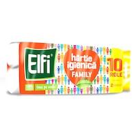 Hartie Igienica Elfi Family, 2 Straturi, 10 Role/Bax