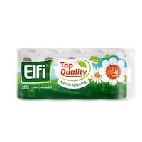 Hartie Igienica Elfi Top Quality, 4 Straturi, 10 Role/Bax