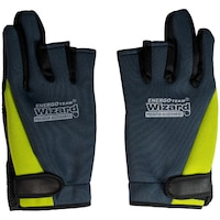 Ръкавици за риболов Wizard, Neoprene Spinning, Без пръсти