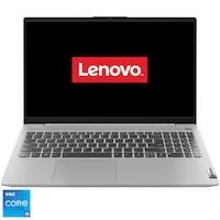 "Laptop ultraportabil Lenovo IdeaPad 5 15ITL05 cu procesor Intel Core i5-1135G7 pana la 4.20 GHz, 15.6"", Full HD, 16GB, 512GB SSD, Free DOS, Platinum Grey"