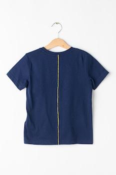 Asics, Фитнес тениска с лого, Тъмносин