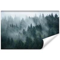 Fotótapéta Tájkép 3D Erdő a Ködben 135cm x 90cm Vlies, Decor 3D, Modern kivitelben, Divat