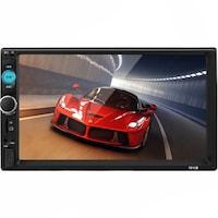 Navigatie prin mirrorlink, mp5 player auto, 7010b, cu rama, bluetooth, 7 inch, buz