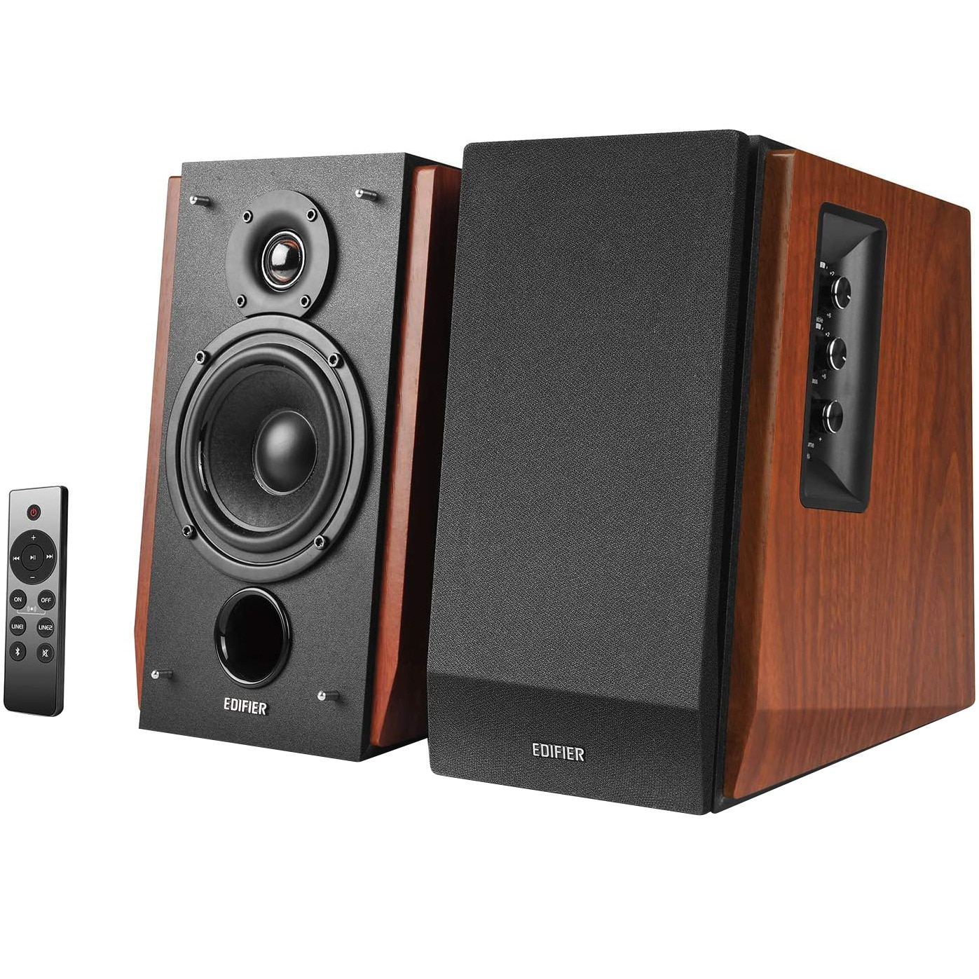 Fotografie Boxe Edifier R1700BTS, 2.0, 66W, Bluetooth, Telecomanda, sub-out, Brown