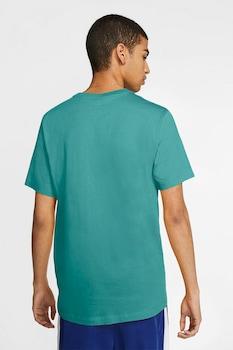 Nike, Tricou de bumbac Icon Futura, Verde persan