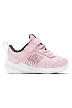 Nike, Обувки Downshifter 11 от кожа и текстил, за бягане