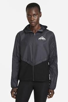 Nike, Непромокаемо яке за бягане, Черен