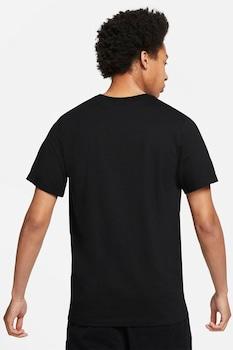 Nike, Tricou cu imprimeu logo DNA Futura, Negru