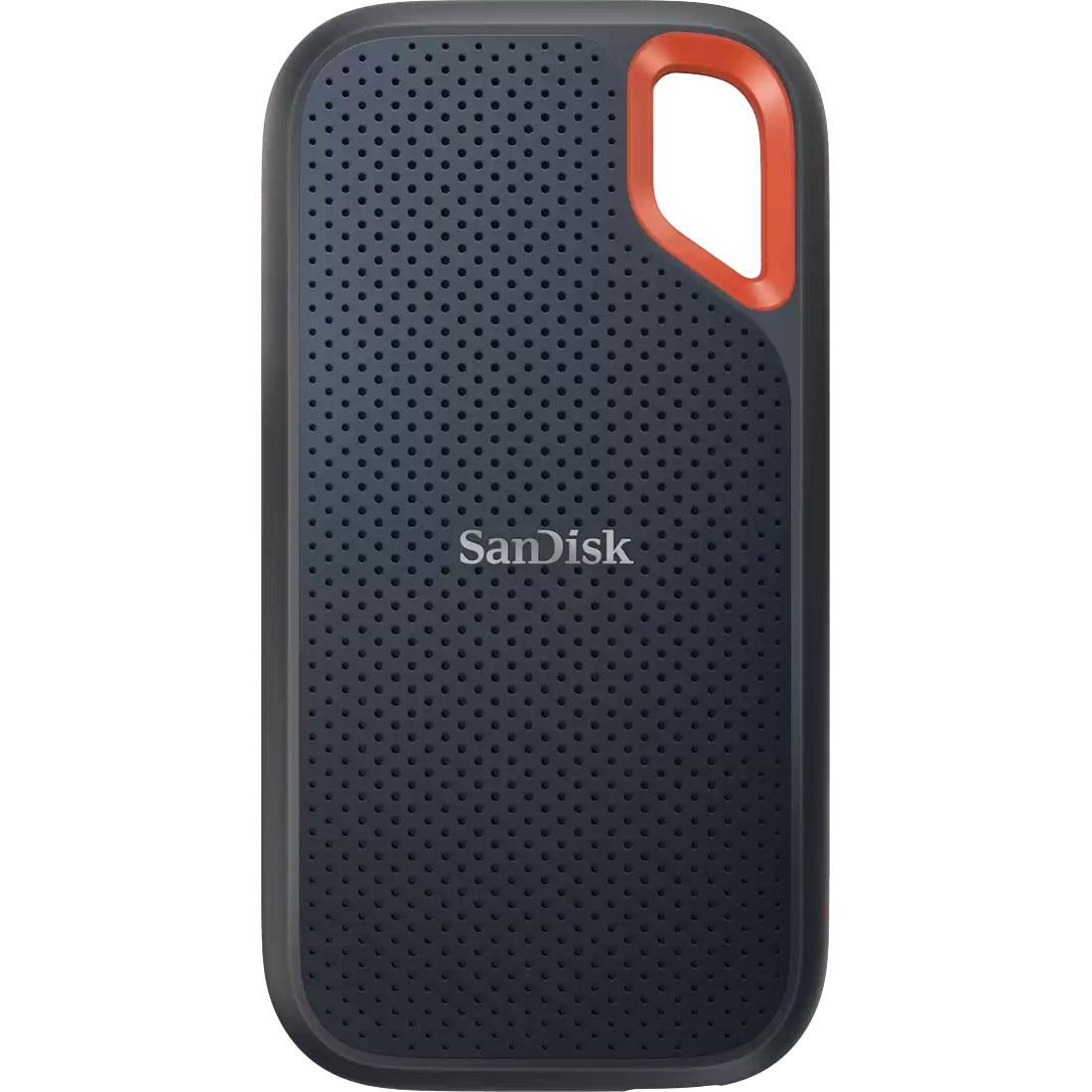 Fotografie SSD extern Sandisk Extreme® Portable V2, 2TB, NVMe, USB 3.2 Gen 2, protectie IP55