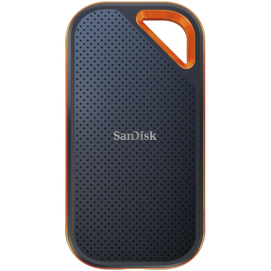 Fotografie SSD Extern SanDisk Extreme PRO® V2, 4TB, NVMe, USB 3.2 Gen2x2, Aluminiu, protectie IP55