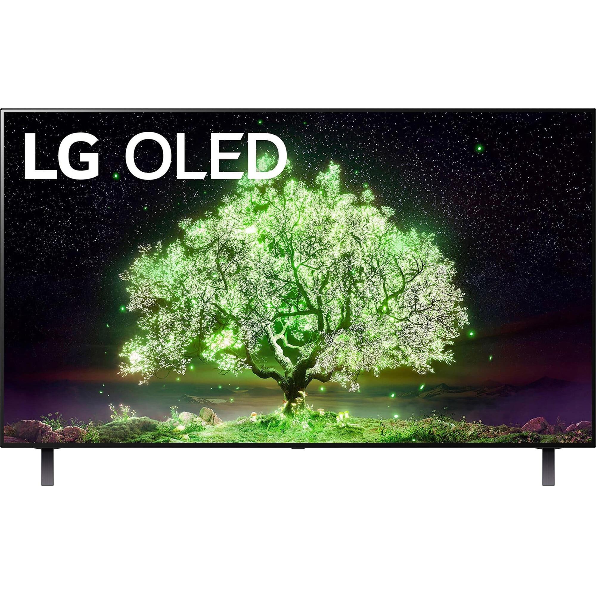 Fotografie Televizor LG OLED65A13LA, 164 cm, Smart, 4K Ultra HD, OLED, Clasa G