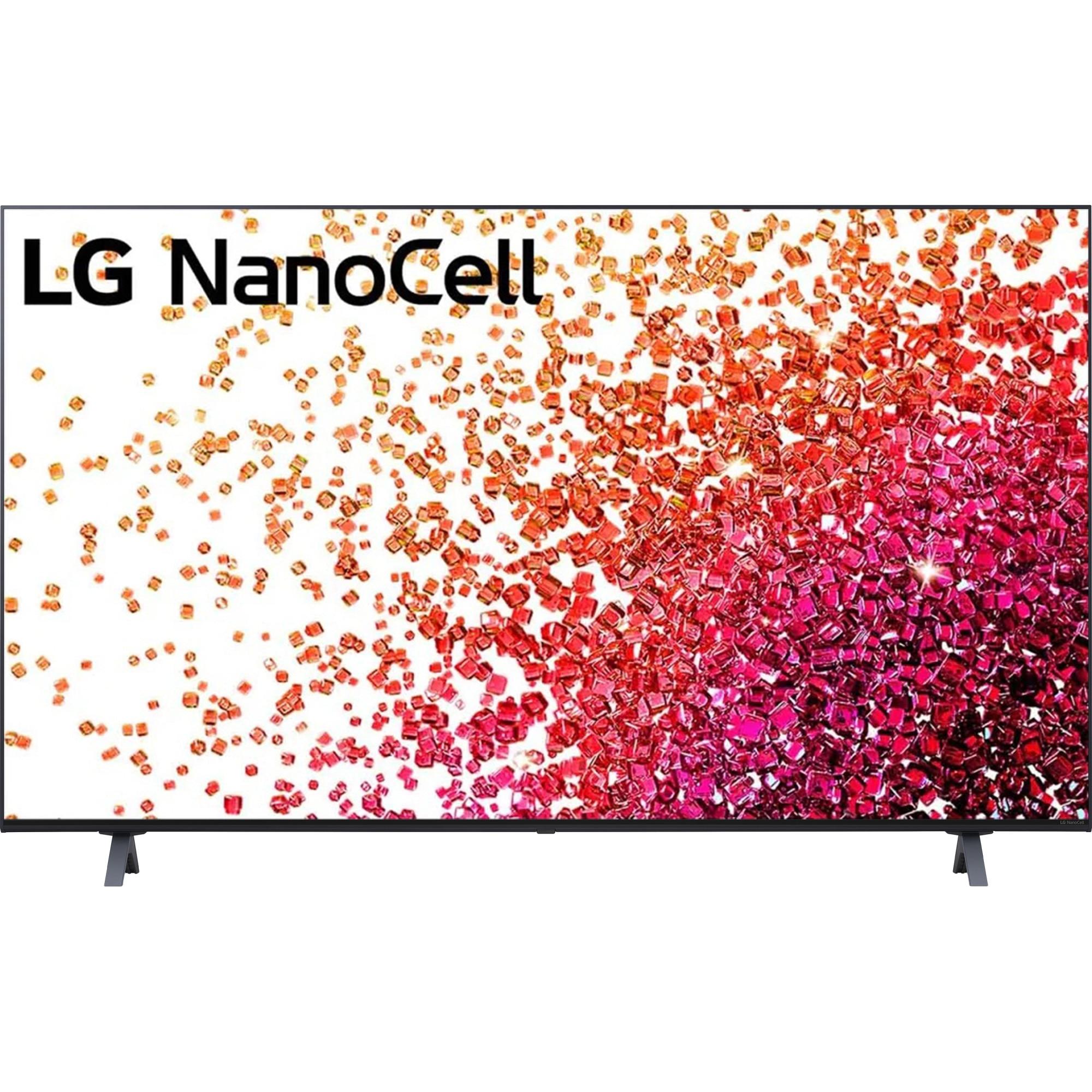 Fotografie Televizor LG 55NANO753PA, 139 cm, Smart, 4K Ultra HD, LED, Clasa G