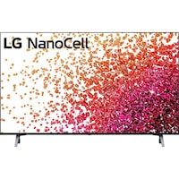 LG 43NANO753PA NanoCell Smart LED TV, 108 cm, 4K Ultra HD, HDR, webOS ThinQ AI
