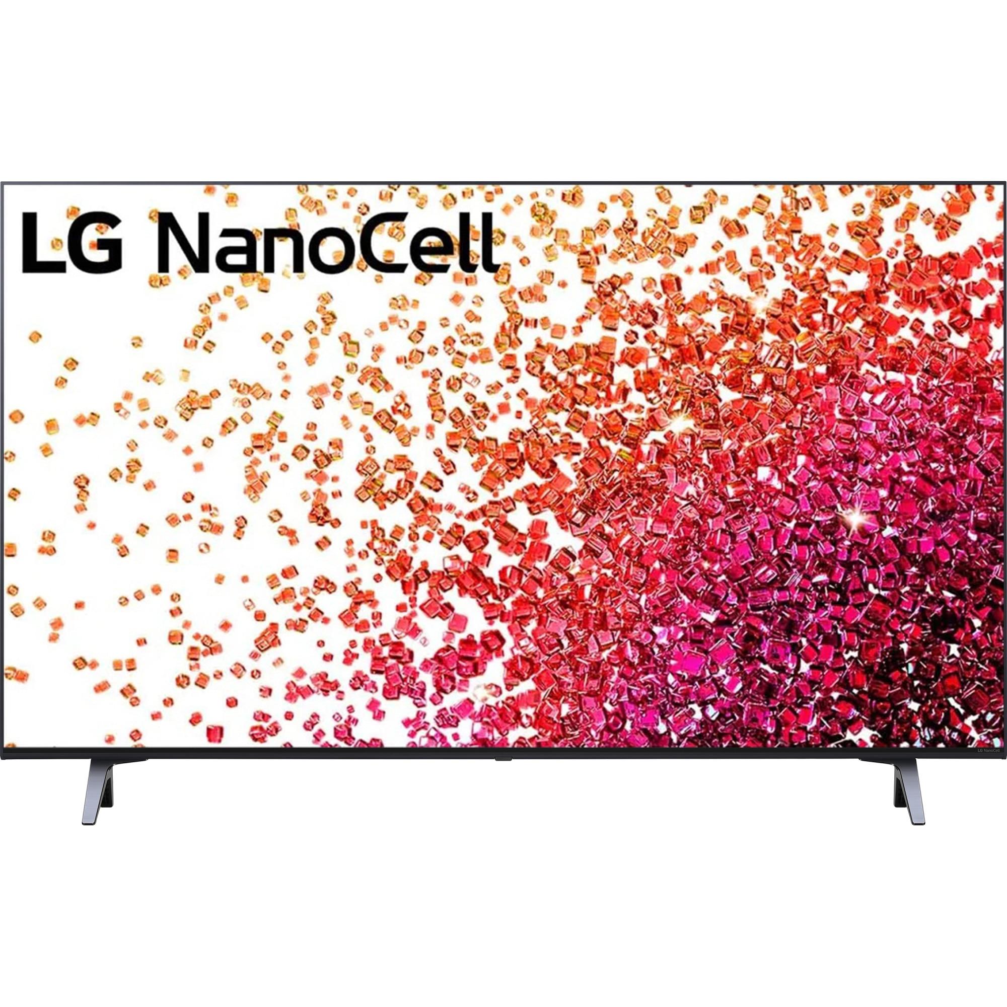 Fotografie Televizor LG 43NANO753PA, 108 cm, Smart, 4K Ultra HD, LED, Clasa G