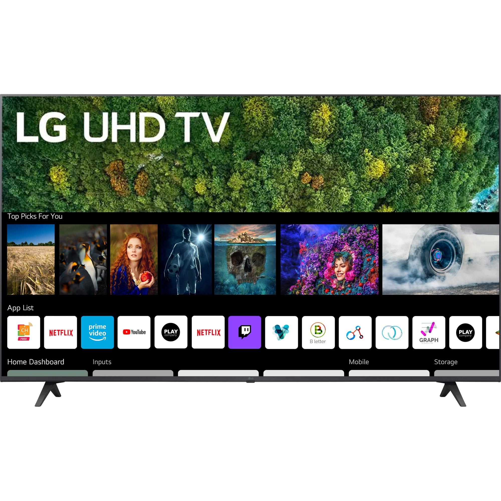 Fotografie Televizor LG 43UP77003LB, 108 cm, Smart, 4K Ultra HD, LED, Clasa G