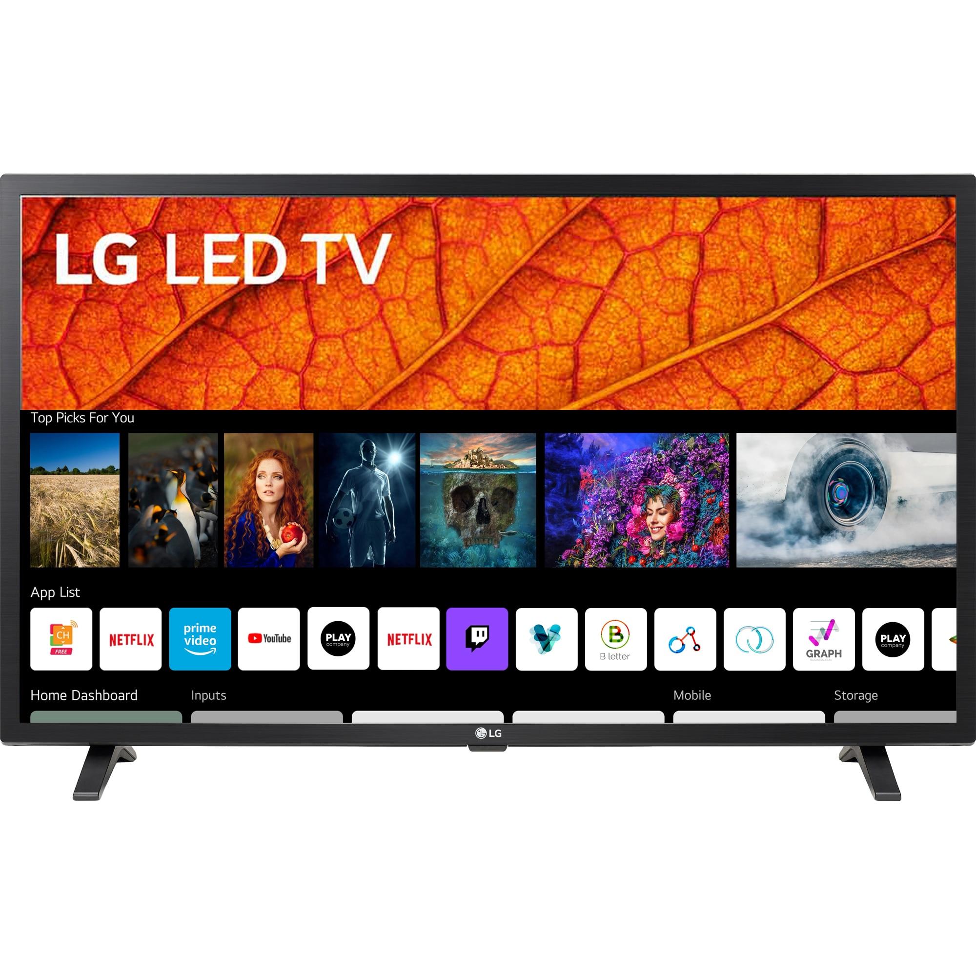 Fotografie Televizor LG 32LM6370PLA, 80 cm, Smart, Full HD, LED, Clasa G