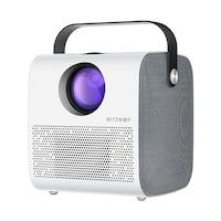 Blitzwolf Hordozható Bluetooth házimozi projektor 1280 * 720P HD, LCD, 3800 Lumen, V4.0 projektor 3W * 2 hangszóróval