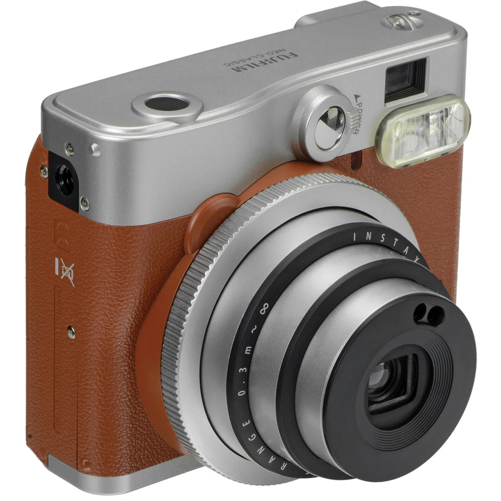 Fotografie Camera foto instant Fujifilm Instax mini 90, Brown