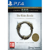 The Elder Scrolls Online: Tamriel Unlimited Crown Edition PS4 játékszoftver