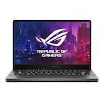 """Asus ROG Zephyrus G14 GA401IV-HE318T 14"""" FullHD 120Hz laptop, AMD® Ryzen™ 9 R9-4900HS, 16GB, 512GB SSD, GeForce® RTX 2060 MaxQ 6GB, Windows 10, Magyar billentyűzet, Szürke"""