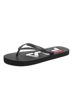 Fila, Troy texturált flip-flop papucs, Fekete, 36