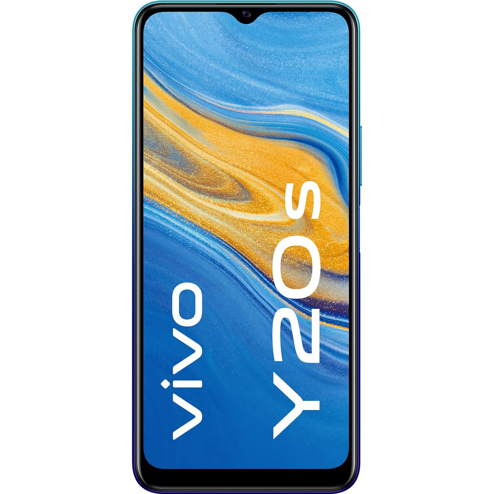 Fotografie Telefon mobil Vivo Y20s, Dual SIM, 128GB, 4G, Nebula Blue