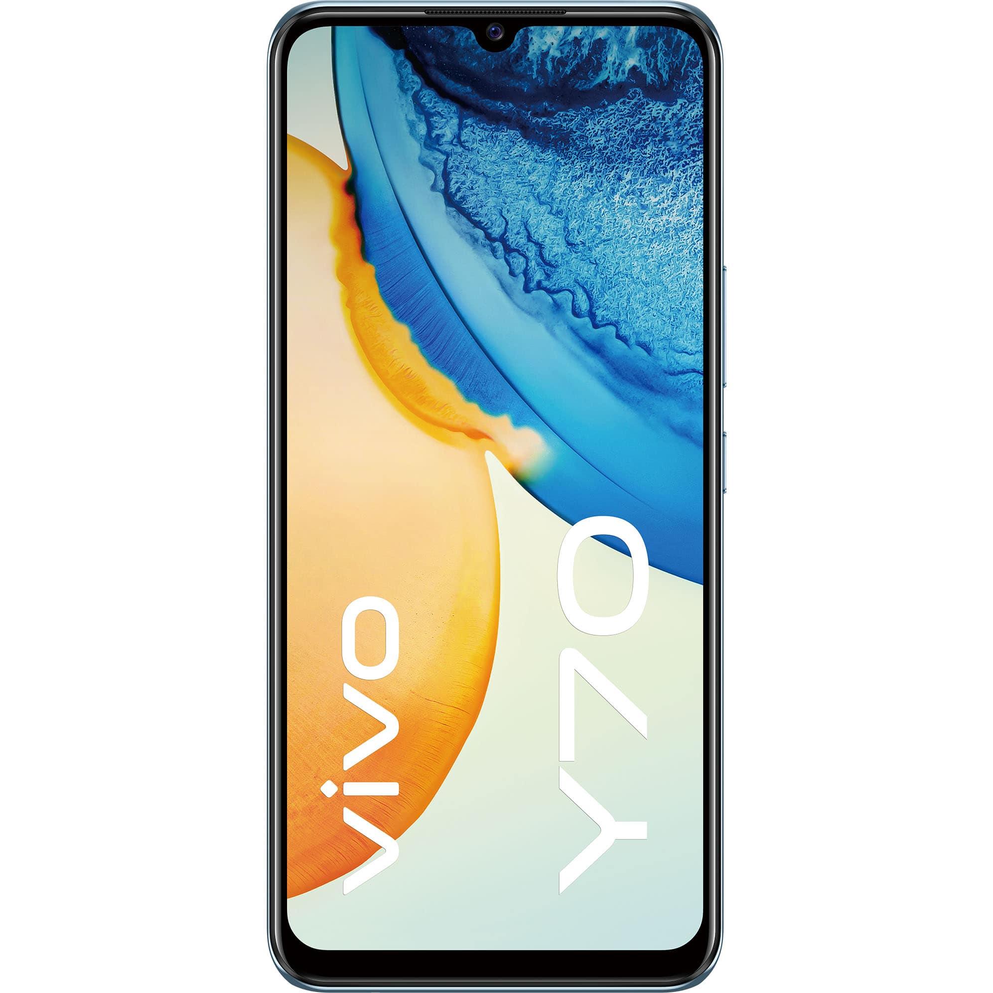 Fotografie Telefon mobil Vivo Y70, Dual SIM, 128GB, 8GB RAM, 4G, Oxygen Blue