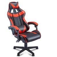 Vigor OC55 kényelmes főnöki gamer szék forgószék dönthető háttámla piros