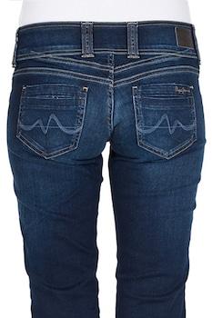 Дамски дънки Pepe Jeans AZ2198-193597863, Straight, памучни, Син деним, W28 L32