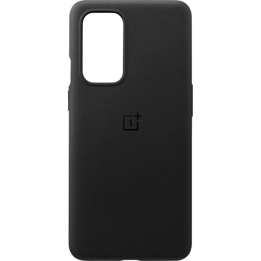Fotografie Husa de protectie OnePlus Sandstone Bumper Case Sandstone pentru 9, Black