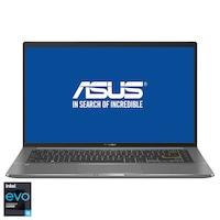 "Laptop ultraportabil ASUS VivoBook S14 S435EA cu procesor Intel® Core™ i5-1135G7 pana la 4.20 GHz, 14"", Full HD, 16GB, 512GB SSD, Intel® Iris Xe Graphics, Free DOS, Light Grey"