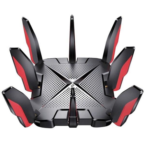 Fotografie Router wireless TP-Link Archer GX90, AX6600, Tri-Band Gigabit, Wi-fi 6, 4×4 MU-MIMO, 8 antene Wi-Fi