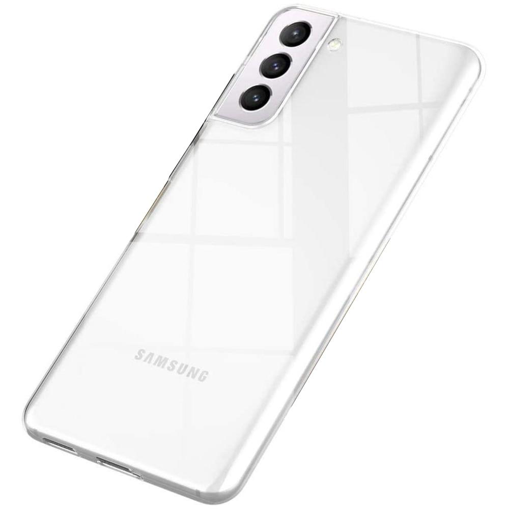 Fotografie Husa de protectie Lemontti Silicon pentru Samsung Galaxy S21 Plus, Transparent