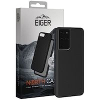 Защитен калъф Eiger North Case за Samsung Galaxy S21 Ultra, Black