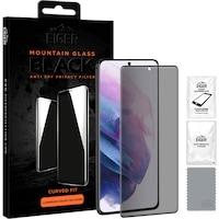 Защитно фолио Eiger, Стъкло 3D Privacy, За Samsung Galaxy S21 Ultra , 0.33 мм, 9H, Case Friendly