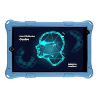 Smart TabbyBoo® Genius Tablet, 8 hüvelyk, 2GB-os DDR3 RAM, 32GB-os ROM, 4G LTE, kettős SIM - Kék