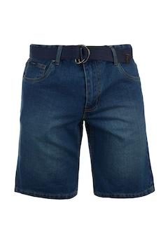 Мъжки къси дънки Pierre Cardin Web Belt SH, Тъмносин