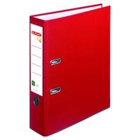 Biblioraft A4 Herlitz, FSC One File, PVC, latime 8 cm, Rosu