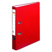 Biblioraft A4 Herlitz, FSC One File, PVC, latime 5 cm, Rosu