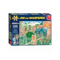 Jan van Haasteren 6200223 Jan Van Haasteren puzzle: Művészpiac (1000 db)