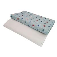 """""""Sleeping stars"""" lepedőkészlet 52x95 cm-es kiságy, pamut elasztikus"""