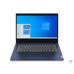 """Лаптоп Lenovo IdeaPad 3 14IIL05, 81WD00UGRM.20GB, 14"""", Intel Core i5-1035G1 (4-ядрен), Intel UHD Graphics 620, 20 GB 2666 MHz DDR4, Abyss Blue"""