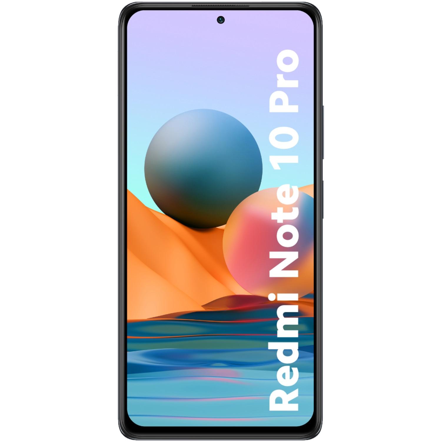 Fotografie Telefon mobil Xiaomi Redmi Note 10 Pro, Dual SIM, 128GB, 8GB RAM, 4G, Onyx Gray