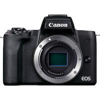 Фотоапарат Mirrorless Canon EOS M50 Mark II, 24.1, 4k, Wi-Fi, Черен, Body