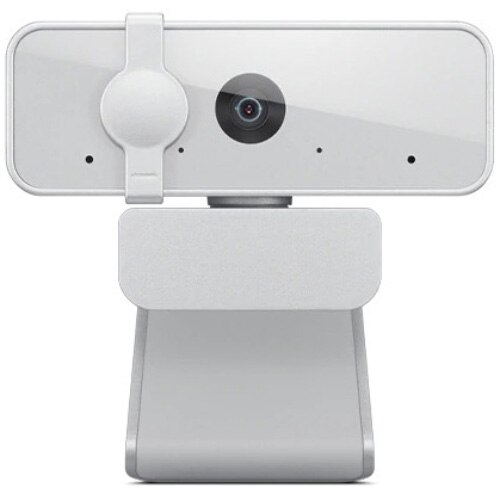 Fotografie Camera web Lenovo 300, Full HD 2MP, Microfoane incorporate, Cloud Grey