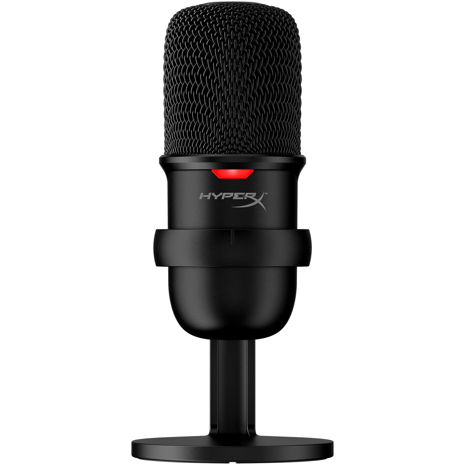 Fotografie Microfon HyperX SoloCast, cardioid, USB, Negru