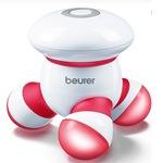 Beurer Mini masszírozó, Vibrációs masszázs, LED fény, piros/fehér