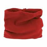 Fular circular, fleece, Rosu, Marime Universala, Unisex