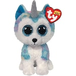 Плюшена играчка TY - Beanie Boos, Хъскито Еднорог, 15 см